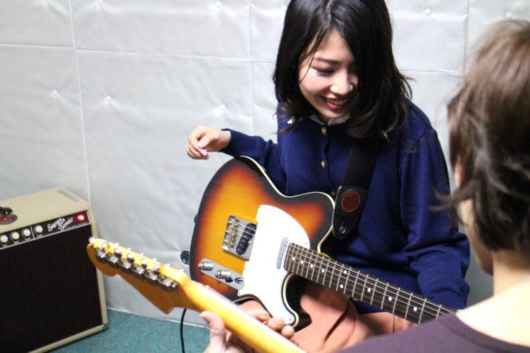 エレキギター-レッスン